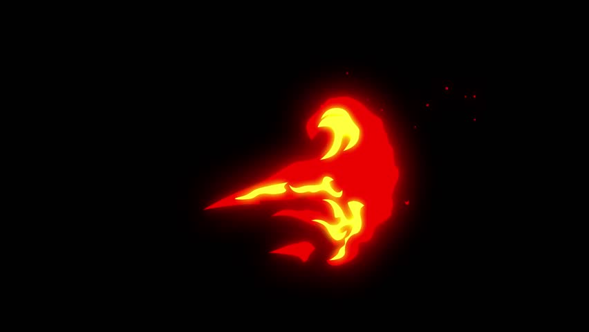 Flame animation.Cartoon flame animation.Flame background and texture | Shutterstock HD Video #1011051545