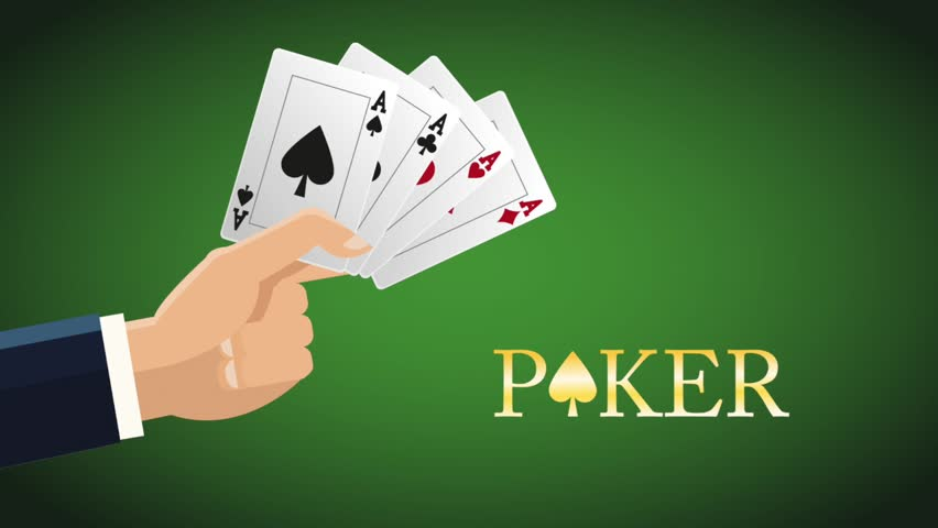 Hand with casino cards HD animation | Shutterstock HD Video #1011058865