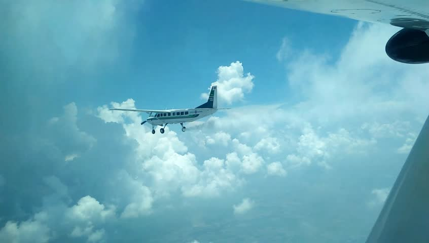 C208B EX Cessna Caravan C208B EX Cessna Caravan Rain Making Mission (Weather Modification) 1 Minute