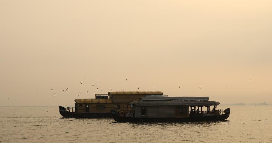 Houseboat Kerala India