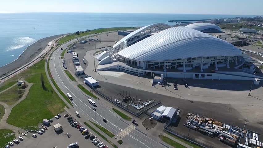 Olympic Park, Fisht stadium, Russia Sochi March 2017