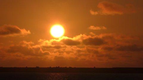 Sunset of Okinawa Naha Port 3.mov