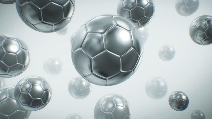 Soccer Ball Background  | Shutterstock HD Video #1011546815