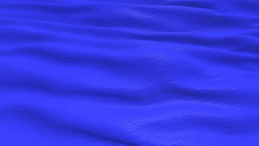 Blue color fabric cloth textile waving background seamless looping 3D rendering | Shutterstock HD Video #1012044035