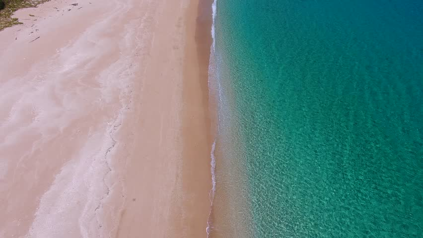 Aerial view of beautiful beach | Shutterstock HD Video #1012199585