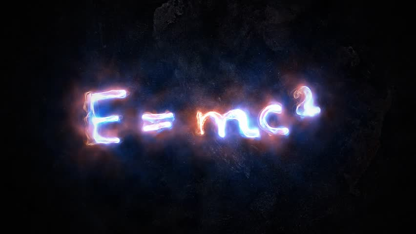 the equation E mc2. The theory of relativity of Einstein. 38.