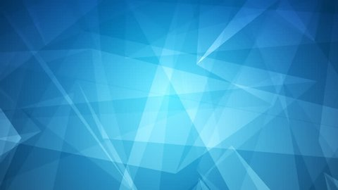 4k Abstract glowing futuristic, network, technology, science, celebration geometrical blue loop-able background with triangles