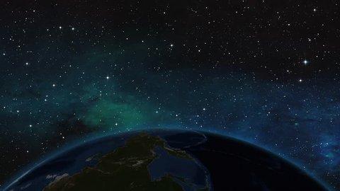 YEMEN ADEN ZOOM IN FROM SPACE