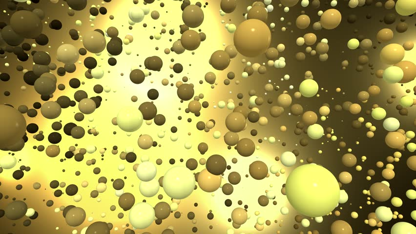 3D animated video with balls and bubbles 4K. The animated film with white, dark and white circles on a plasma color background in the free relocation. | Shutterstock HD Video #1012882655