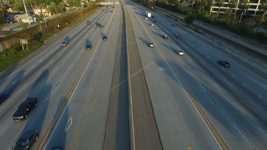 Freeway Aerial View | Shutterstock HD Video #1012906595