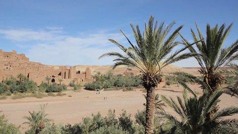 Ouarzazate town, Morocco