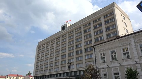 Building of the Grodno Regional Executive Committee. Belarus