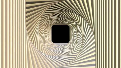 passage strange entrance tunnel