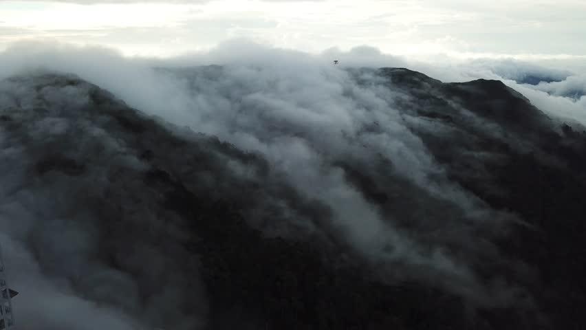 Cloud Surrounding The moutain