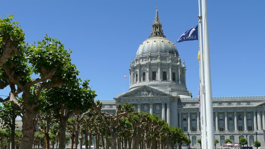 San Francisco City Hall, California   Shutterstock HD Video #1013591795