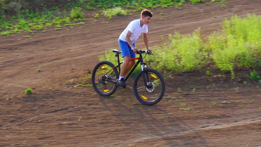 Bike sport mountain bike ride | Shutterstock HD Video #1013667005