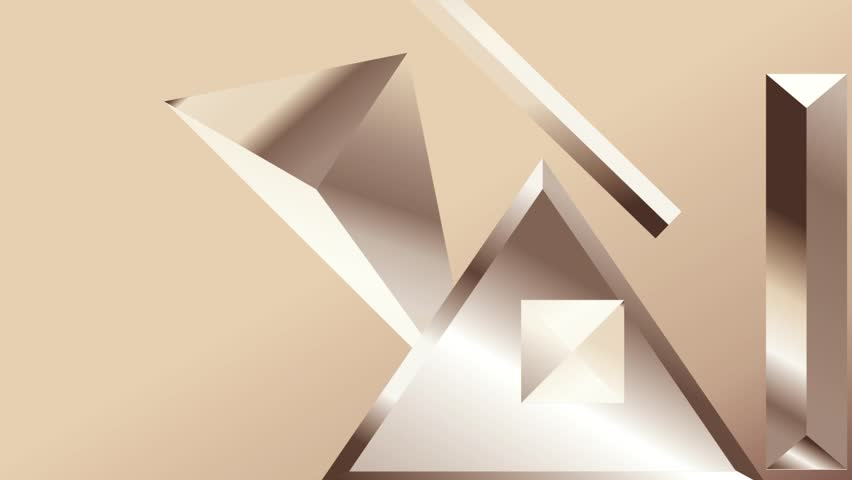 Metal texture gradients animation. Modern abstract metal texture gradient shapes composition. Golden geometric figures. Minimal Vector cover video. Futuristic design. stock footage.   Shutterstock HD Video #1013858105