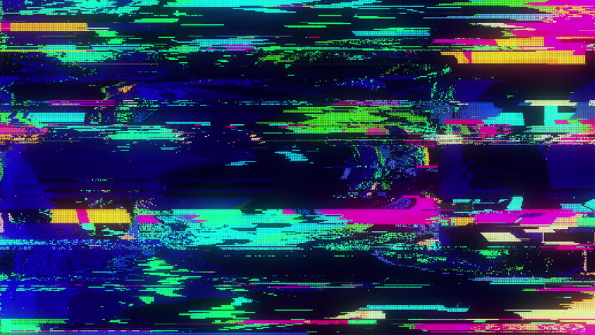 Unique Design Abstract Digital Animation Pixel Noise Glitch Error Video Damage | Shutterstock HD Video #1013926925