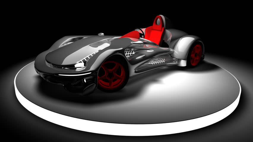 Concept car 3d render (No trademark issues as the car is my own design) (HD, 30fps, loop)  1080p