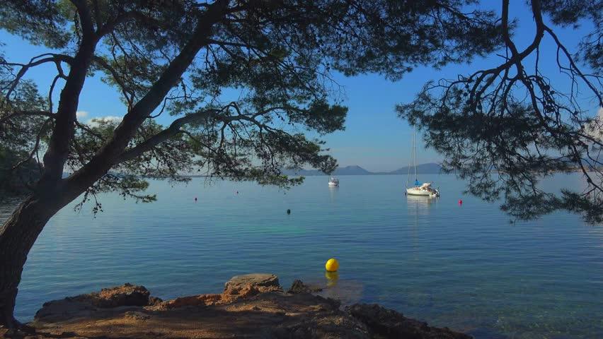 Cala Pi de la Posada, Cap Formentor, Majorca, Balearic Islands, Spain, Mediterranean, Europe