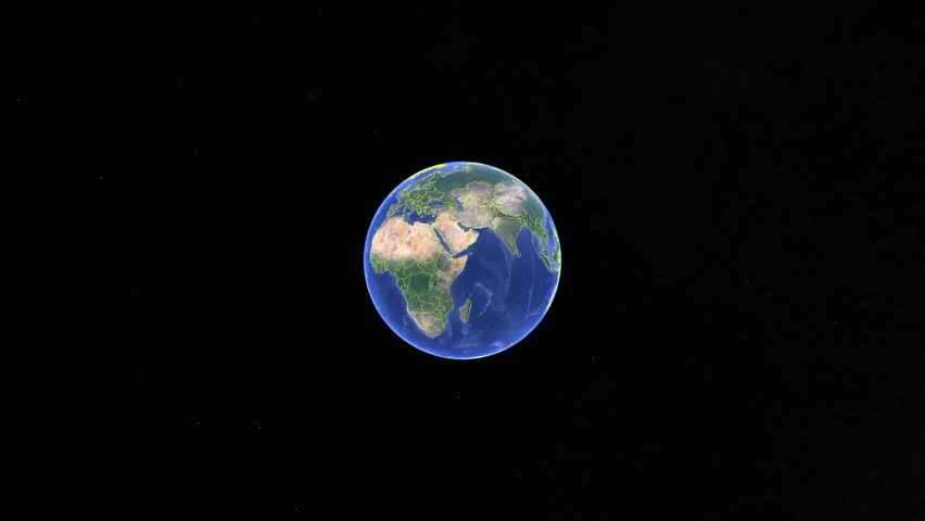 Haiti with flag. 3d earth in space - zoom in Haiti outer, created using ultra high res NASA