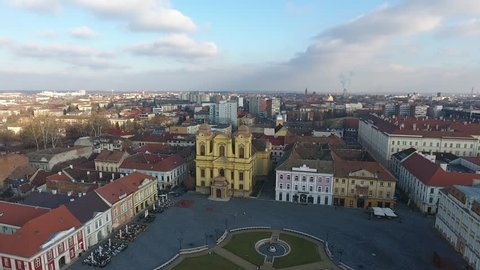 Piata Unirii - Union Square - Timisoara, Romania