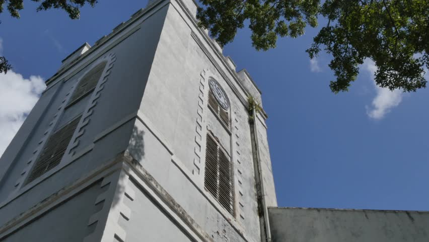 St Mary's Church in Bridgetown, St Michael, Barbados, West Indies, Caribbean
