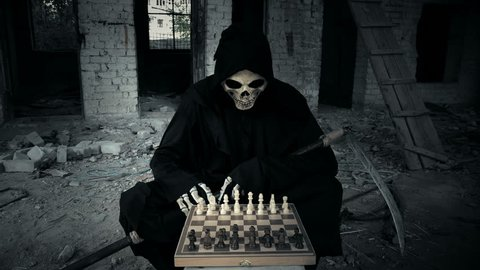 death plays in chess, after reflection makes a move and shows that your move