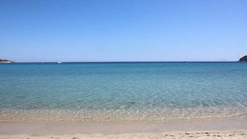 Marina di Campo shore, 25th May 2018, Elba island, Italy