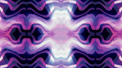 soft turbulent ornamental shiny light rays kaleidoscope ethnic tribal psychedelic pattern