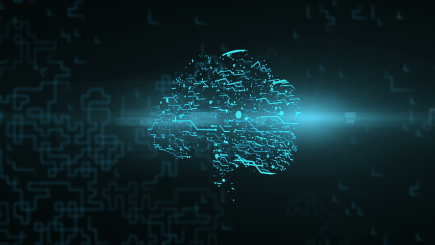 Logo animation tree. Bright energy neural network | Shutterstock HD Video #1015299235
