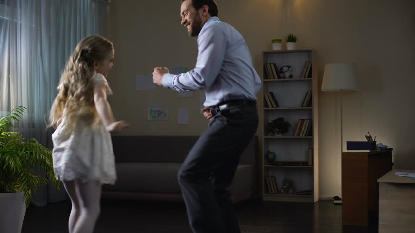Daddys Little Princess Scene