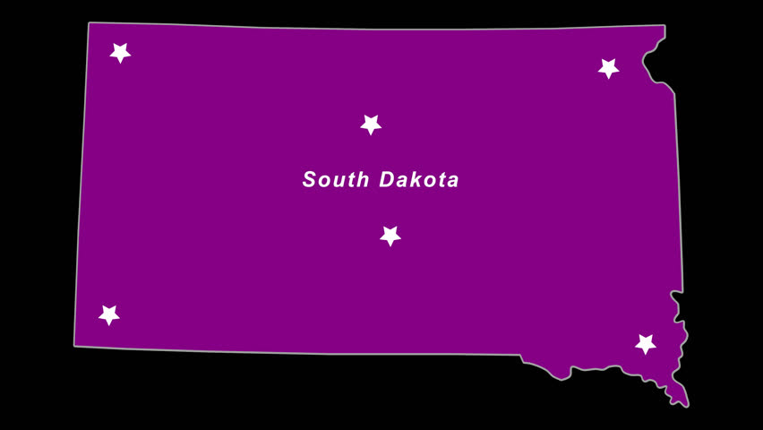 Purple State Map.South Dakota As Purple State Election Map Animated Alpha Chan