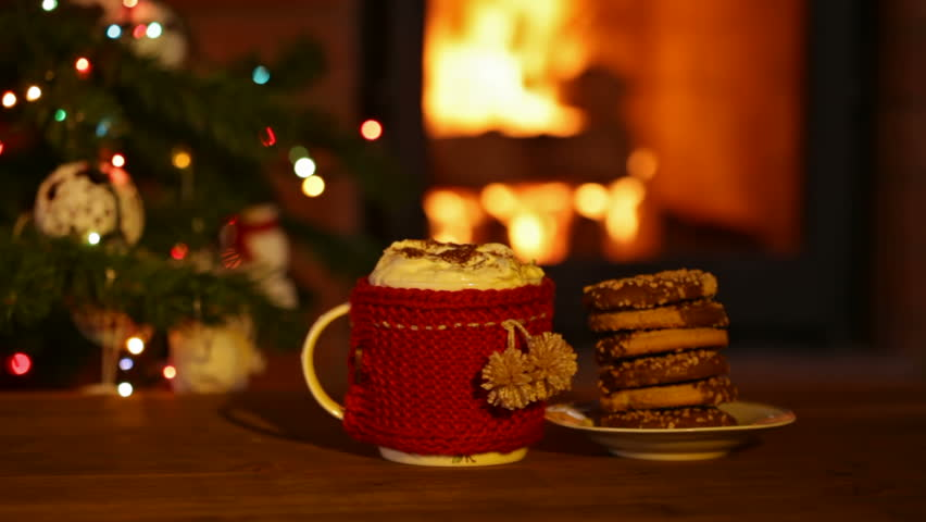 Cookies And Hot Chocolate Prepared Stock Footage Video 100 Royalty Free 1015542295 Shutterstock