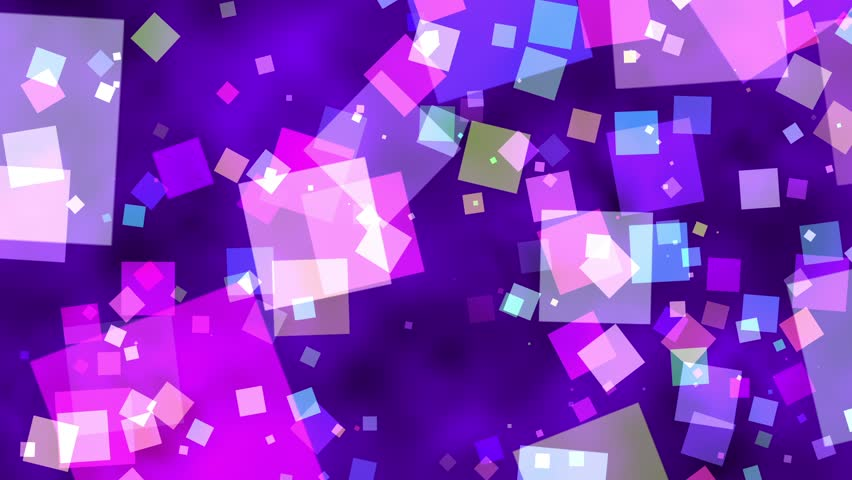 Fast spinning blue squares fractal particles abstract motion background loop | Shutterstock HD Video #1015562335
