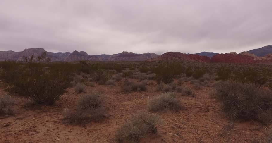 Red Rock Canyon, Las Vegas 4k Aerial Footage   Shutterstock HD Video #1015728355
