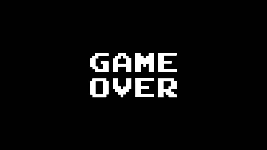 Resultado de imagem para game over