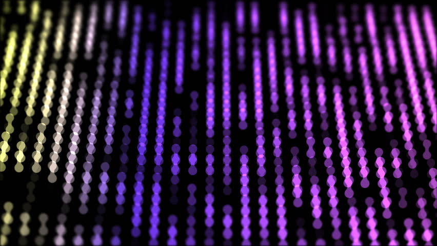 Dots moving down in a row, abstract colorful composition closeup view, loop able 4k horizontal video background | Shutterstock HD Video #1015749265