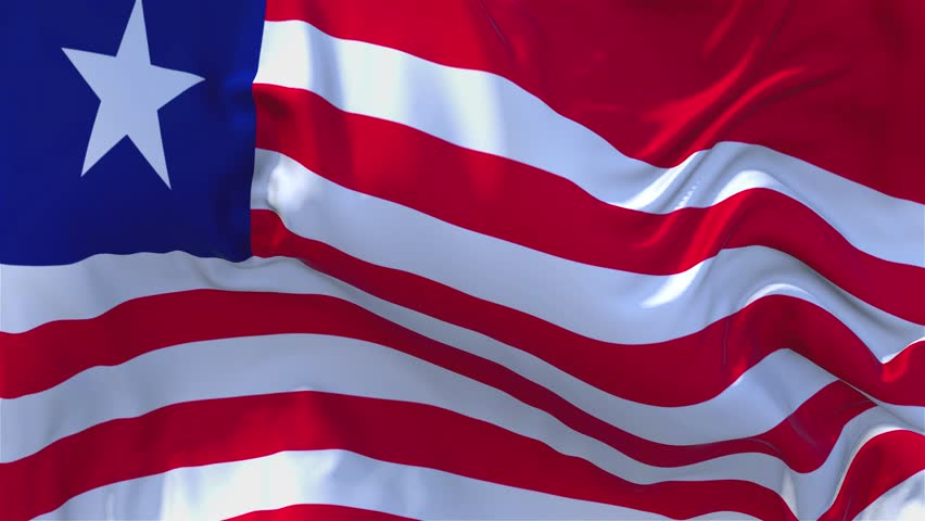 22  Liberia Flag Waving in Stock Footage Video (100% Royalty-free)  1015760965 | Shutterstock