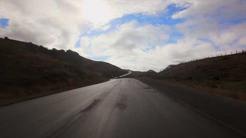 Forward: Driving Across Beautiful Humboldt Scenery