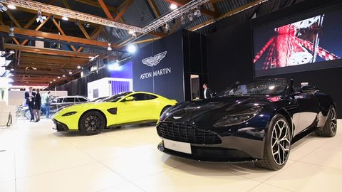 Aston Martin Black Stock Video Footage 4k And Hd Video Clips