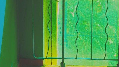 ussr indoors hyper lapse. old building dynamic motion