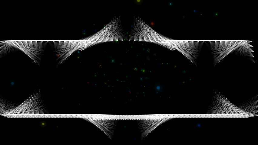 Geometric Triangle Abstract Motion Black Background   Shutterstock HD Video #1016540575