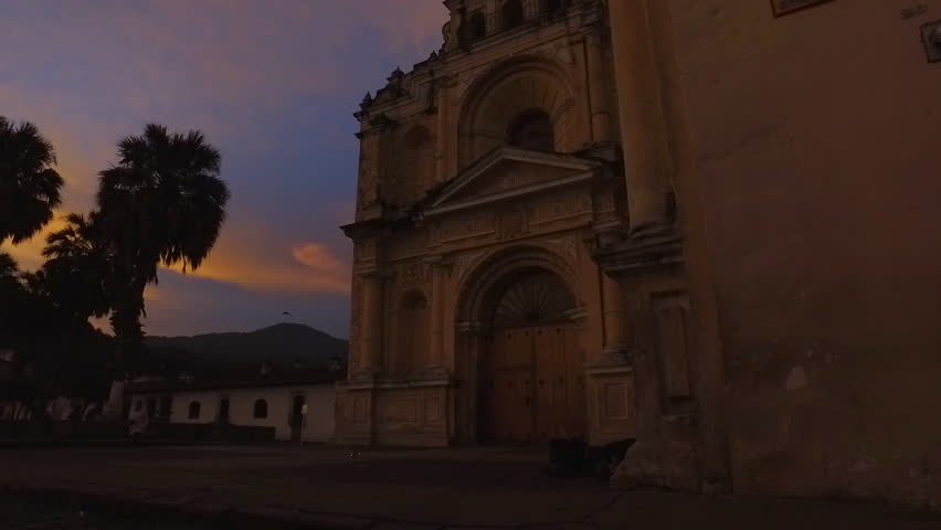 Old colonial chuch in Antigua Guatemala