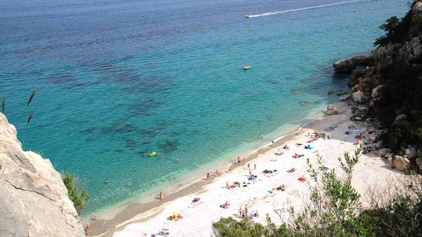 Italy - Sardinia ( Sardegna ) -  Cala Gonone beach