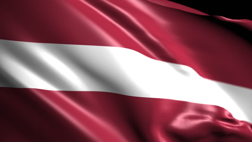 Flag of Latvia. Animated Slow pan to the right. Transition element | Shutterstock HD Video #1018072165