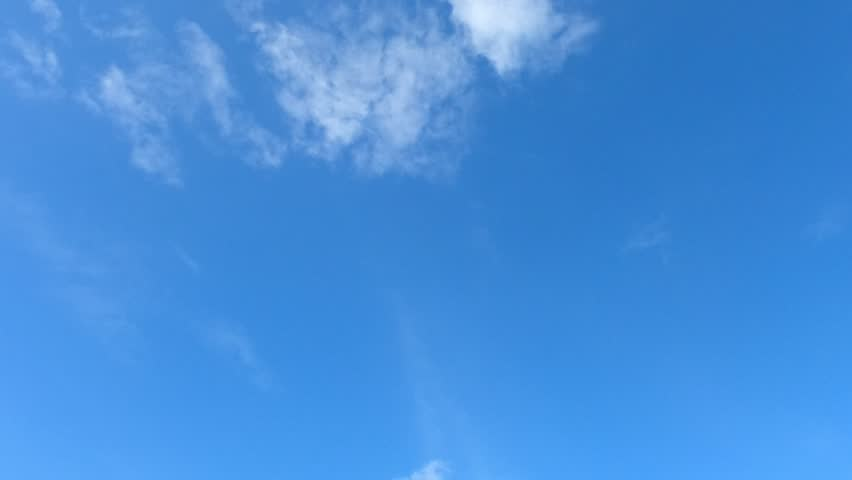 Time lapse,sky beautiful cloud scape white fluffy clouds over blue sky. #1018075795