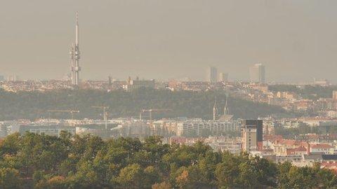Panorama of Prague. Czech capital.