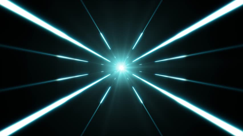 Hyperspace Background With Shining Starburst/ Animation of a colorful abstract hyperspace shining starburst background, with optical lens flare and light beams | Shutterstock HD Video #1018229635