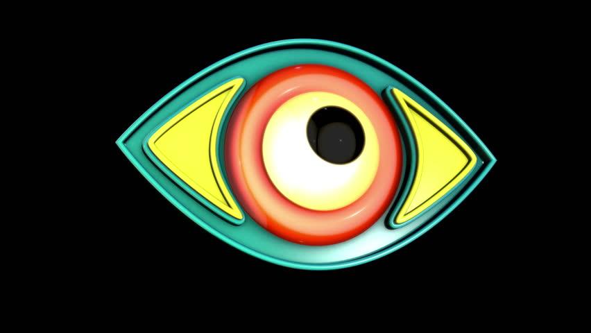 3d Eye Model Animation in Stock Footage Video (100% Royalty-free)  1018292095 | Shutterstock